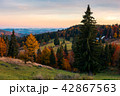 reddish dawn in mountains 42867563