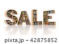 ブック 本 販売のイラスト 42875852