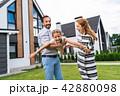 ファミリー 家庭 家族の写真 42880098