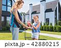 ファミリー 家庭 家族の写真 42880215
