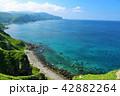 青空 夏 神威岬の写真 42882264