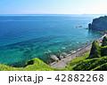 青空 夏 神威岬の写真 42882268