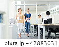 オフィス ビジネスウーマン ビジネスの写真 42883031