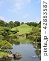 熊本市 風景 水前寺公園 42883587