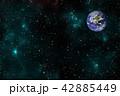 バックグラウンド 宇宙 ぎんがのイラスト 42885449
