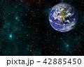 バックグラウンド 宇宙 ぎんがのイラスト 42885450