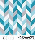 Seamless geometric pattern with zigzags. 42890923