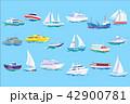 船 船舶 セイルボートのイラスト 42900781