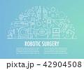 ロボット 手術 メディカルのイラスト 42904508