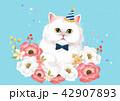 動物 ねこ ネコのイラスト 42907893