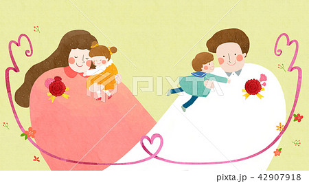 Vector - illustration for thanked the teachers and the parents for their hard work 003 42907918