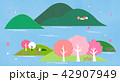 さくら サクラ 桜のイラスト 42907949