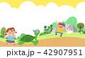 子 子供 かわいいのイラスト 42907951
