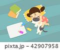 子 幸せ 楽しいのイラスト 42907958