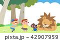 動物 子 子供のイラスト 42907959