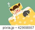 動物 ねこ ネコのイラスト 42908007