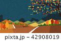 あき 秋 デザインのイラスト 42908019