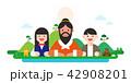 記念日 アジア人 アジアンのイラスト 42908201