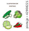 アイコン イコン 農産品のイラスト 42908221