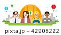 記念日 アジア人 アジアンのイラスト 42908222