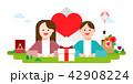 記念日 アジア人 アジアンのイラスト 42908224