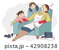 Vector - Illustration of the concept of life and work balance, super mom & business woman concept 007 42908238