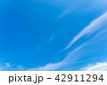 空 快晴 晴れの写真 42911294