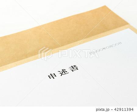 申述書 提出書類 裁判 42911394