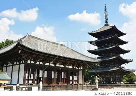世界遺産・奈良公園 42911880