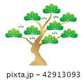 松 木 ベクターのイラスト 42913093
