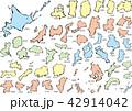 日本地図_筆c 42914042