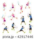 テニスプレーヤー 42917446