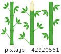 竹 和 和風のイラスト 42920561