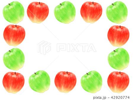 りんごフレーム角 42920774