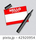 ベクタ ベクター ベクトルのイラスト 42920954