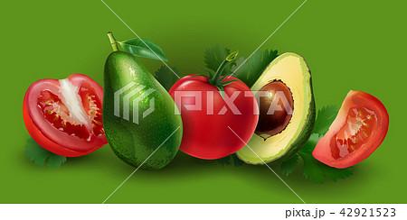 Avocado and tomato 42921523