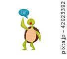 かめ カメ 亀のイラスト 42923392