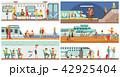 交通 ベクトル 運輸のイラスト 42925404