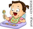幼児 食事 子供のイラスト 42926658