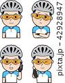 男性サイクリスト5 42928947