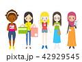 外国人観光客 女性 42929545