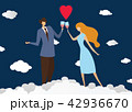 ロマンス ロマン ぶどう酒のイラスト 42936670