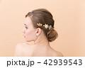 女性 美容 後ろ姿の写真 42939543