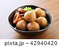 イカと里芋の煮物 42940420