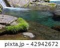 菊池渓谷 川 清流の写真 42942672
