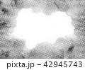 モノクロ テキスタイル 42945743