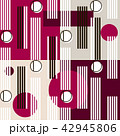 抽象的 柄 近代的のイラスト 42945806