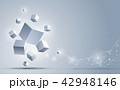 キュービック 抽象 キューブのイラスト 42948146