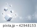 キュービック バックグラウンド キューブのイラスト 42948153