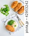 チキン お料理 料理の写真 42953242